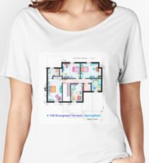 House of Simpson family - First Floor Women's Relaxed Fit T-Shirt