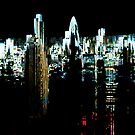 City Art by hologram