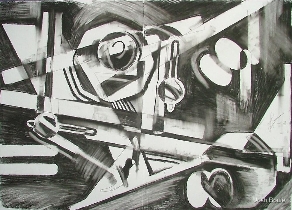 Charcoal study 4 by Josh Bowe