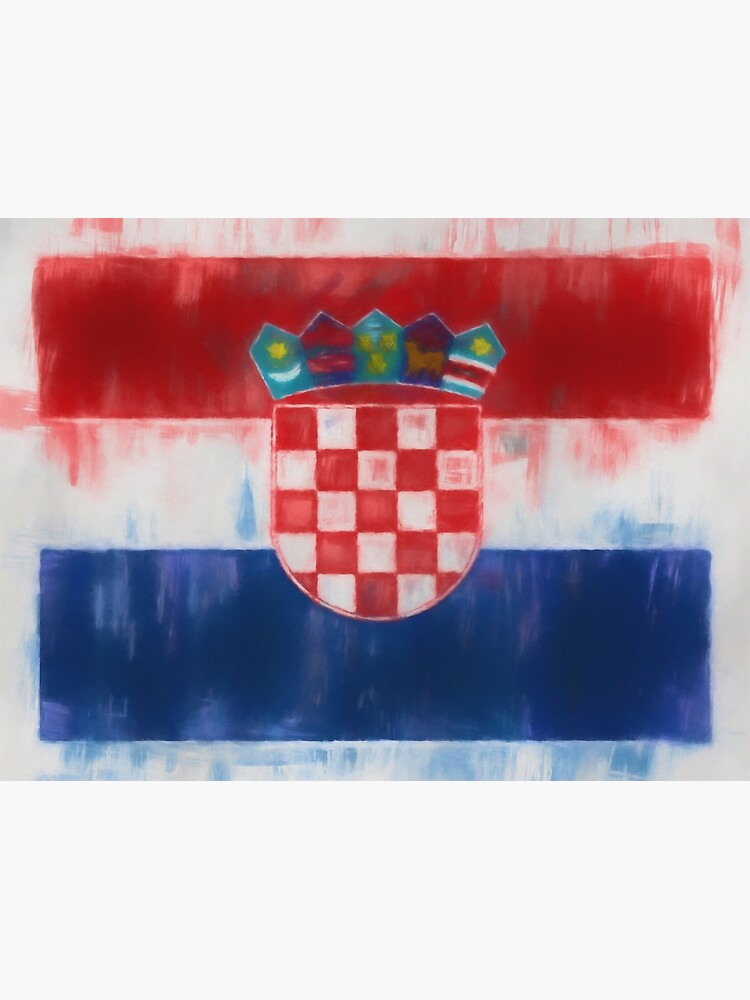 Croatia Flag Reworked No. 66, Series 1 by 8th-and-f
