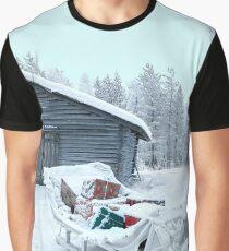 Santa's Secret Warehouse Graphic T-Shirt