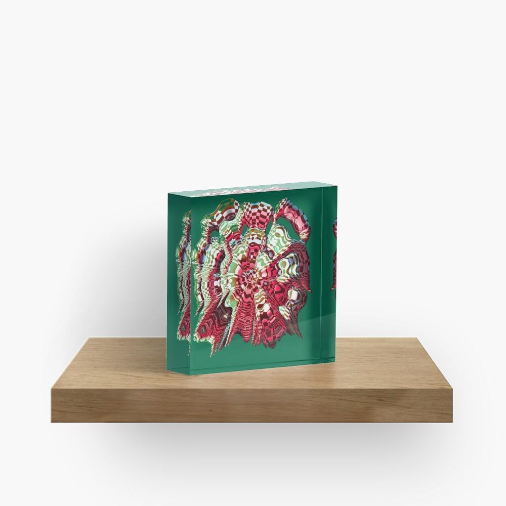 Extraterrestrial Portal Acrylic Block