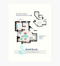 Seinfeld Apartment Art Print