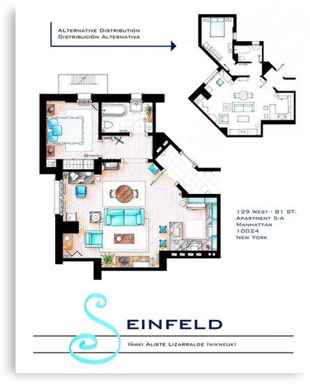 Seinfeld Apartment by Iñaki Aliste Lizarralde