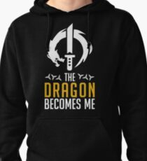 Genji - Dragon becomes me. Pullover Hoodie