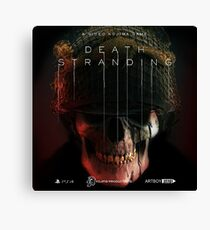 Death Stranding Logo Art Canvas Print
