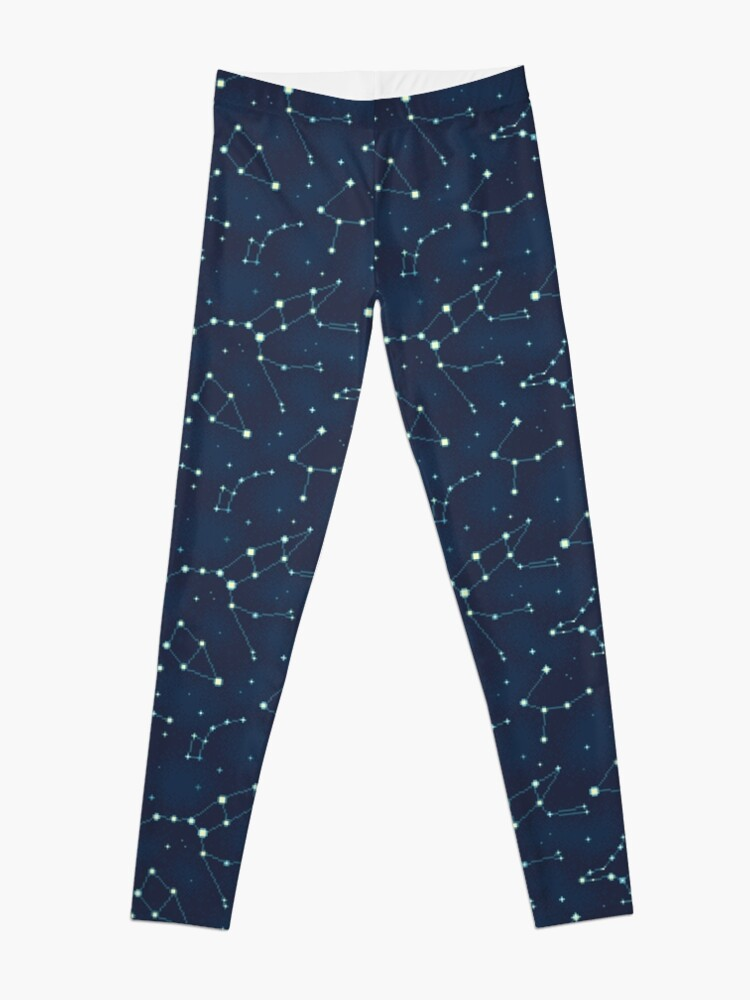 Alternate view of Constellation Pattern (A) Leggings