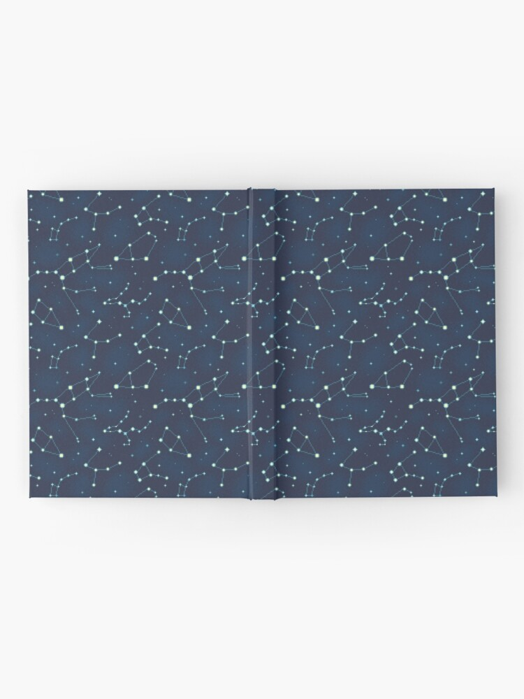 Alternate view of Constellation Pattern (A) Hardcover Journal