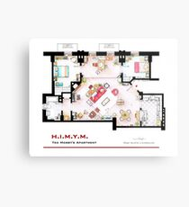 Ted Mosby's apartment from 'HIMYM' Metal Print