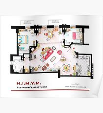 Ted Mosby's apartment from 'HIMYM' Poster