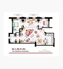 Ted Mosby Wohnung von 'HIMYM' Fotodruck