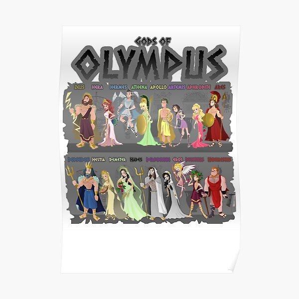 Gods of Olympus Poster
