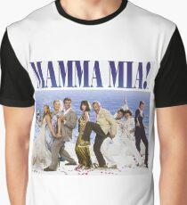 Mamma Mia Cast Poster Graphic T-Shirt