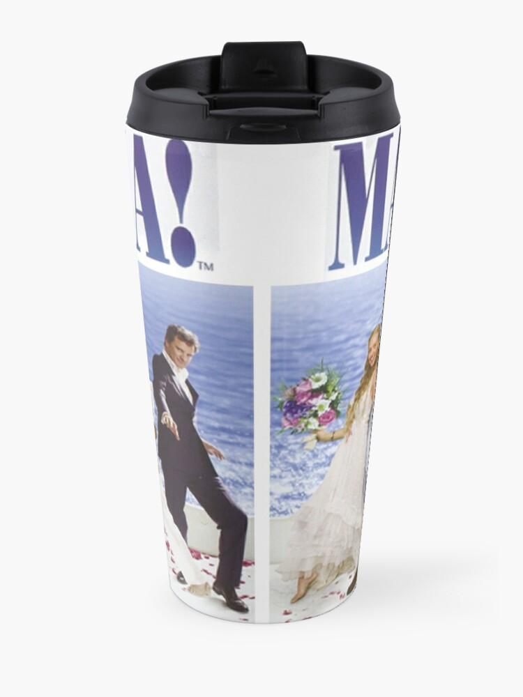 Alternate view of Mamma Mia Cast Poster Travel Mug