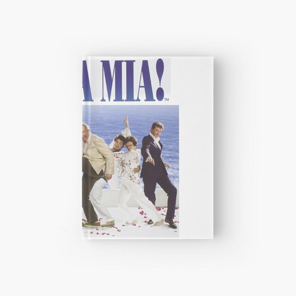 Mamma Mia Cast Poster Hardcover Journal