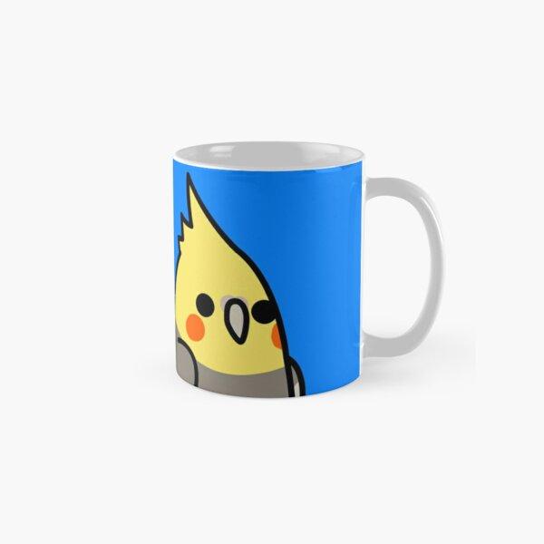 Too Many Birds! - Yellow Cockatiel Classic Mug