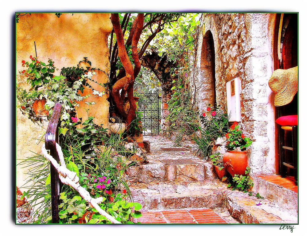 Through the Gate in Eze by Terry Temple