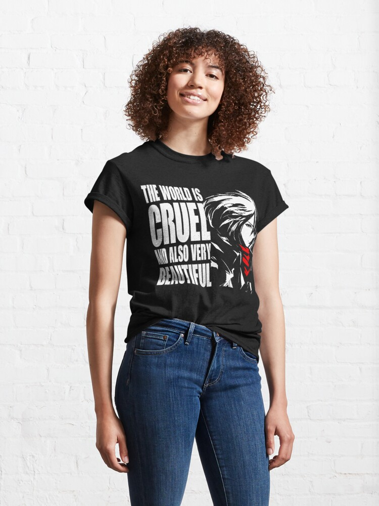 Alternate view of The world is cruel and also very beautiful Classic T-Shirt