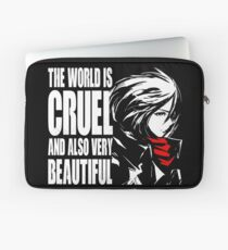 The world is cruel and also very beautiful Laptop Sleeve