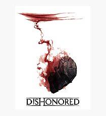 Dishonored Mask Photographic Print