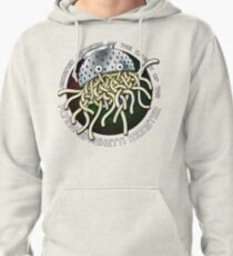 Ordained Minister of the Church of the Flying Spaghetti Monster on White Pullover Hoodie