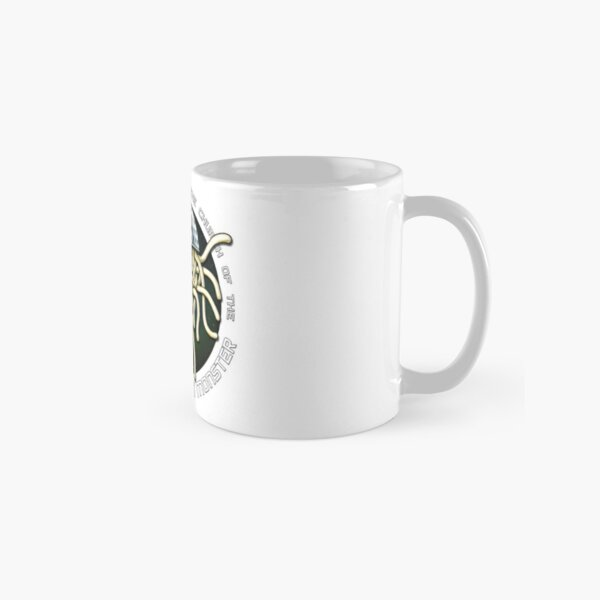 Ordained Minister of the Church of the Flying Spaghetti Monster on White Classic Mug