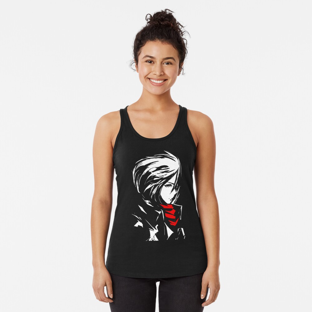 The world is cruel and also very beautiful Racerback Tank Top