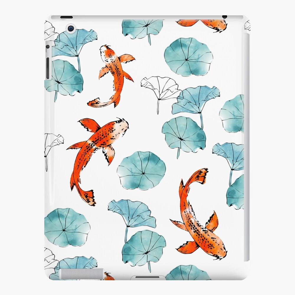 Waterlily koi iPad Case & Skin