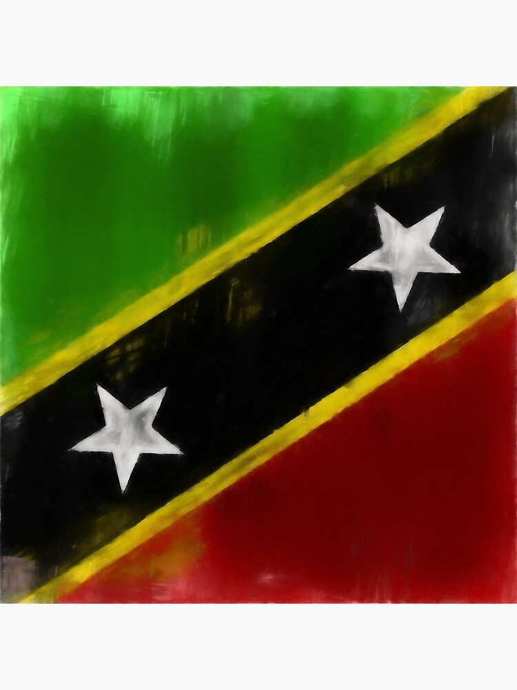 Saint Kitts And Nevis Flag Reworked No. 1, Series 1 by 8th-and-f