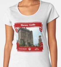 Blarney Castle of Ireland Women's Premium T-Shirt