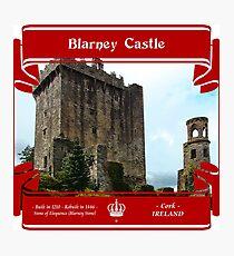 Blarney Castle of Ireland Photographic Print