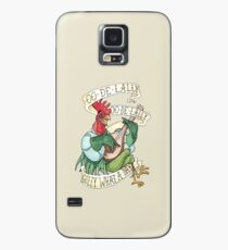 Alan-A-Dale Rooster : OO-De-Lally Golly What A Day Tattoo Watercolor Painting Robin Hood Case/Skin for Samsung Galaxy