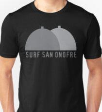 Surf San Onofre Vintage Minimalist Surfing Art Unisex T-Shirt