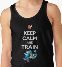 keep calm and train Tank Top