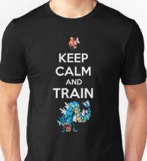 keep calm and train Unisex T-Shirt
