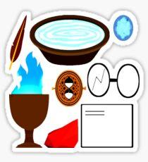 in a wizarding world Sticker