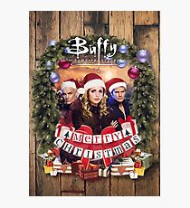 Buffy Merry christmas Photographic Print