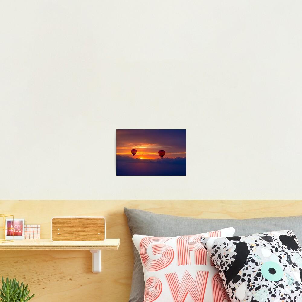 Soaring above the Desert Photographic Print
