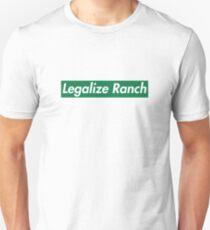 Legalize Ranch - Green Unisex T-Shirt