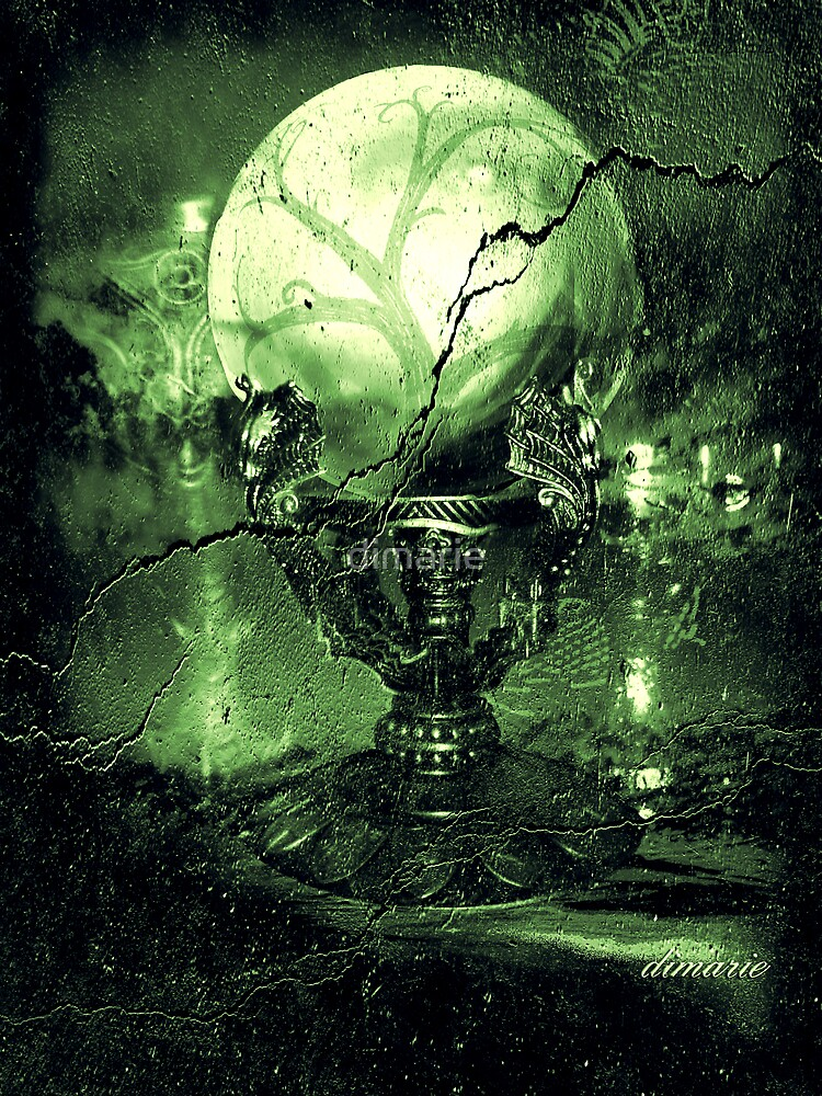 The Greenz of the Crystal Ball  by dimarie
