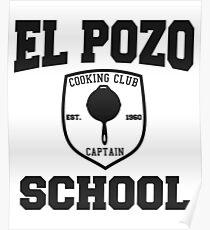 El Pozo School Cooking Club Poster