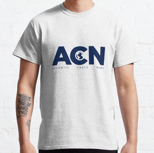 ACN. Fan Art of The Newsroom serie Classic T-Shirt