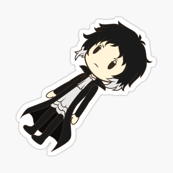 Bungou Stray Senpai! - Ryunosuke Akutagawa Sticker