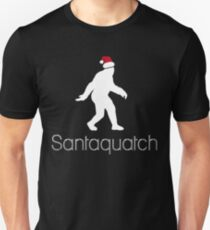 Santaquatch | Bigfoot Christmas Unisex T-Shirt