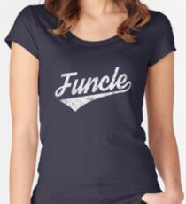 Funcle Women's Fitted Scoop T-Shirt