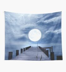 Full Moon Wall Tapestry