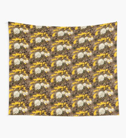 Cephalipterum drummondii Wall Tapestry
