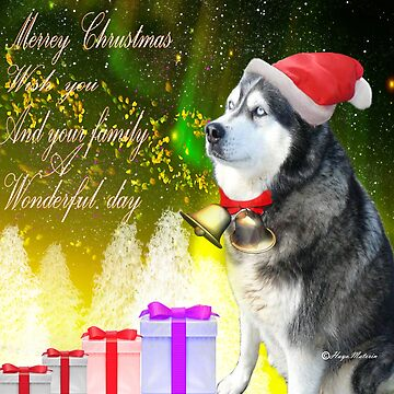 Merry Christmas wishes-Happy holidays /gift products by haya1812