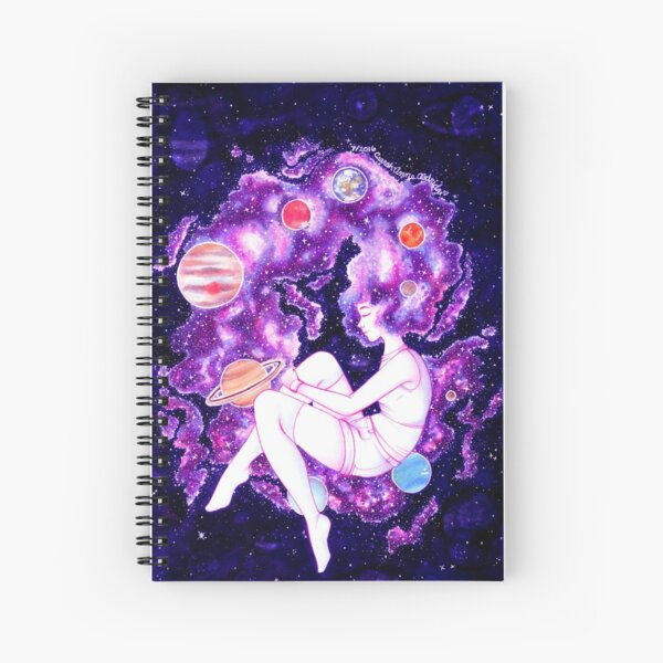 Galaxy Girl 2016 Spiral Notebook