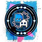 Creative Artista Logo Graphic Tee by Derrick Aviles